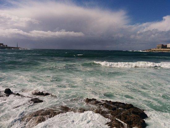 Foto playa Simprón.