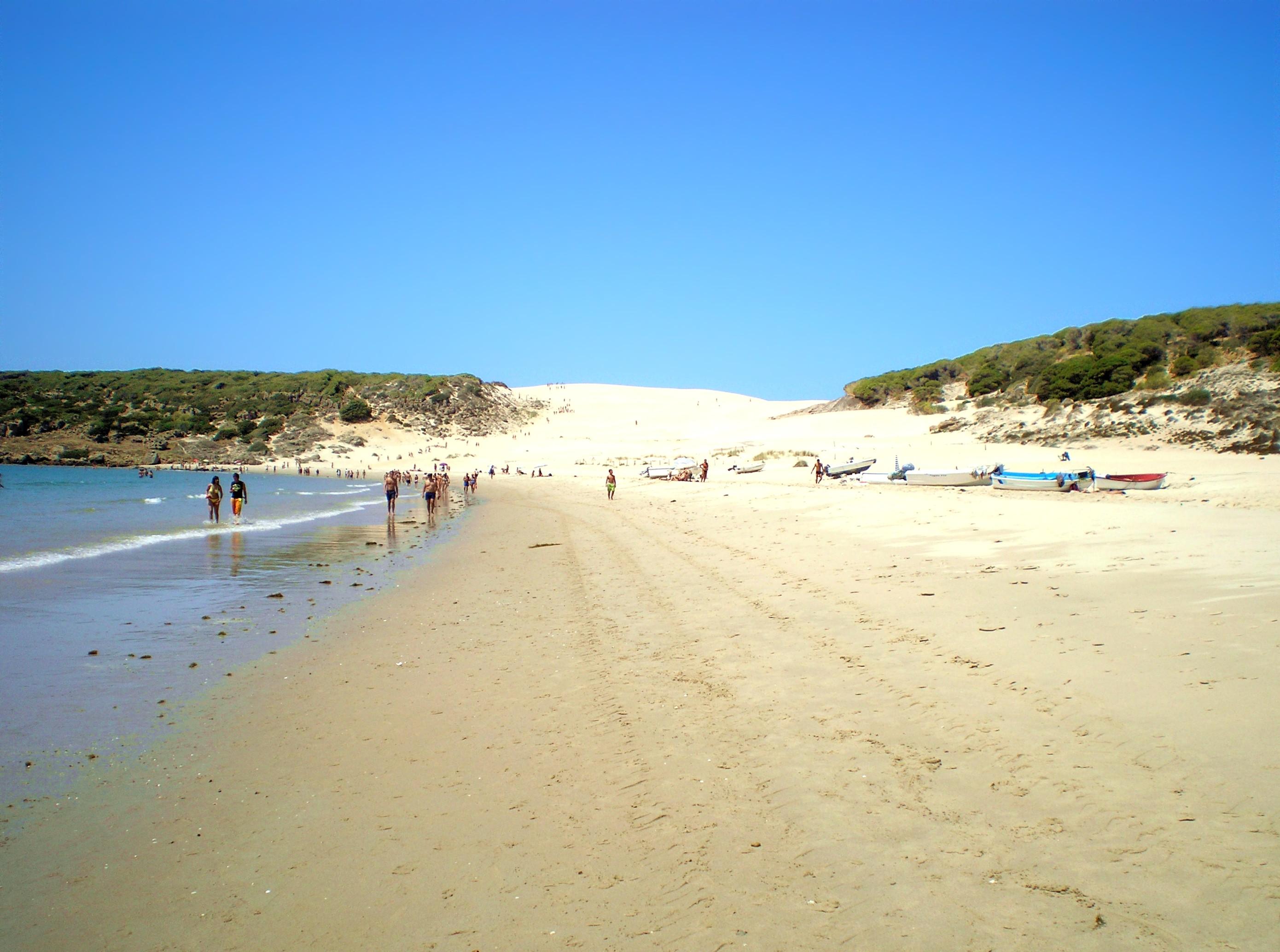 Foto playa Bolonia. Playa de Bolonia - August 2008