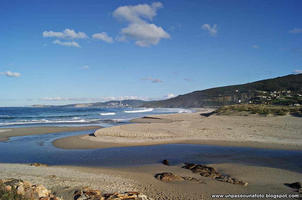 Foto playa Salomba / Playa do Portiño.