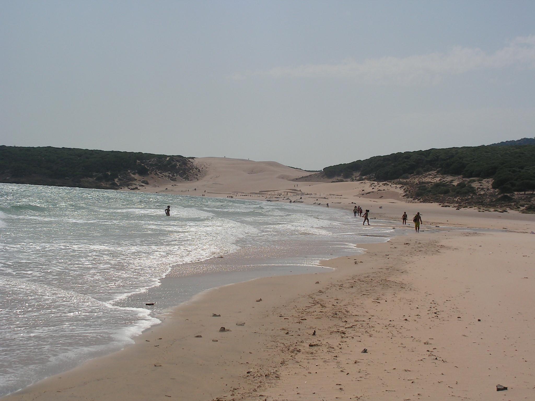 Foto playa Bolonia. Bolonia
