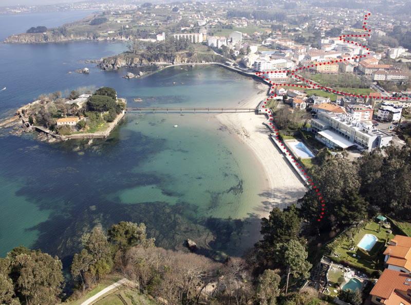 Foto playa Santa Ana.
