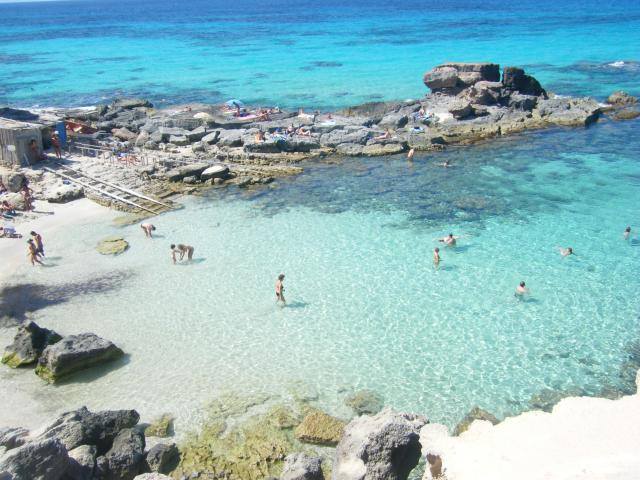Foto playa Cala Estreta.
