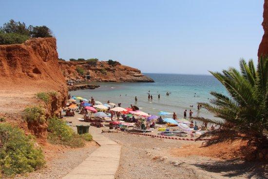 Foto playa Sa Caleta.