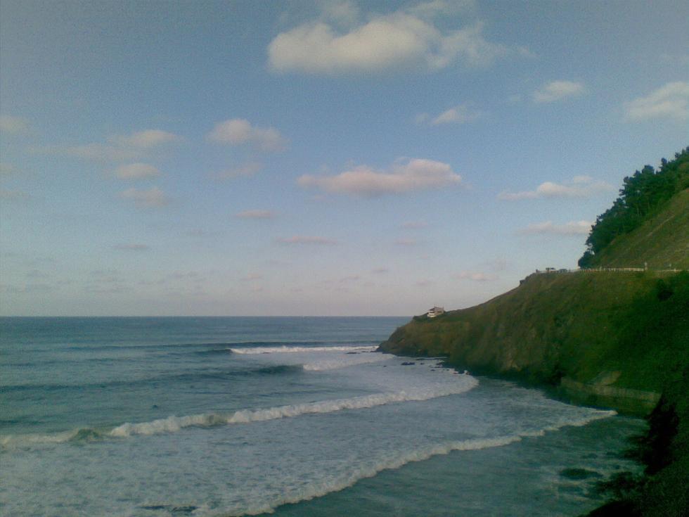 Foto playa Lapari.
