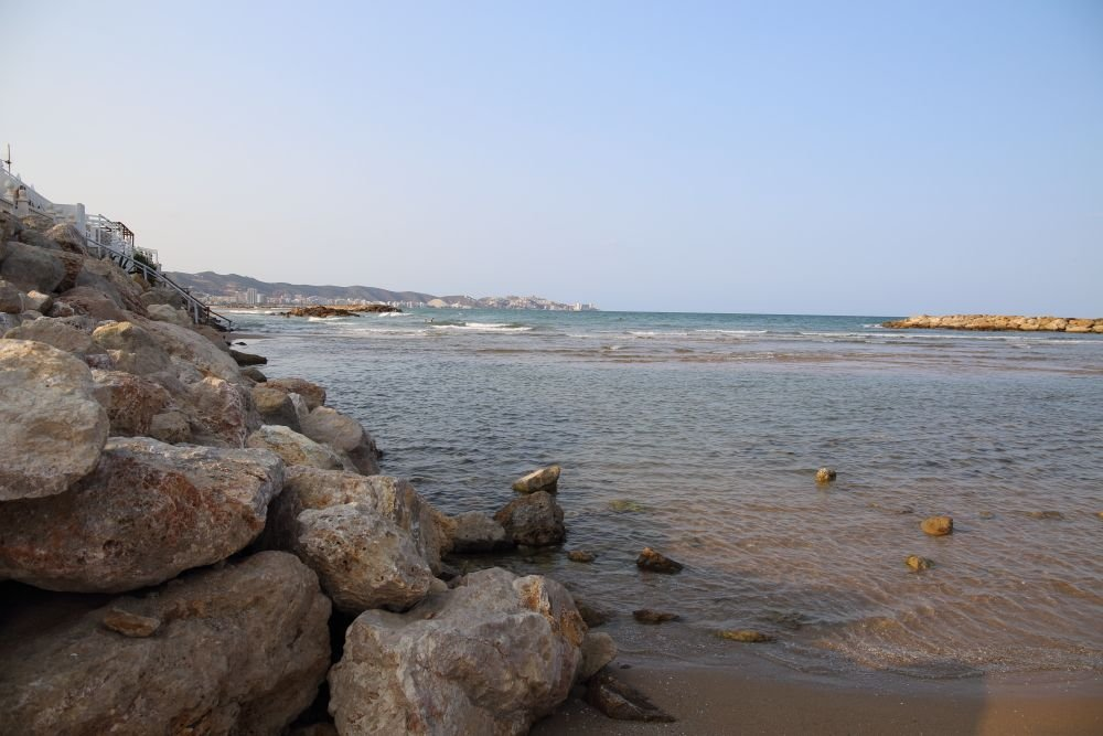 Foto playa L´Estany.