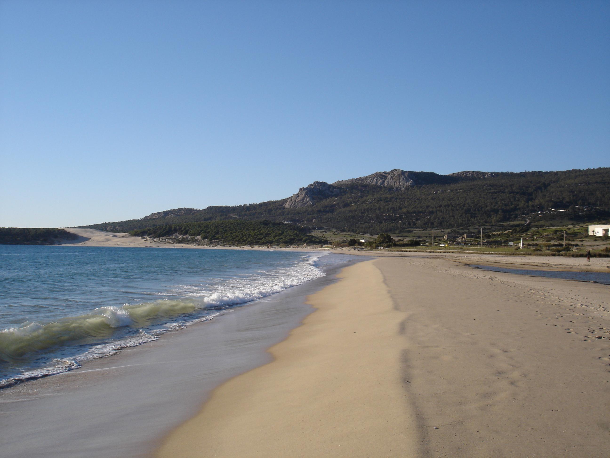 Foto playa Bolonia. La Playa de Bolonia