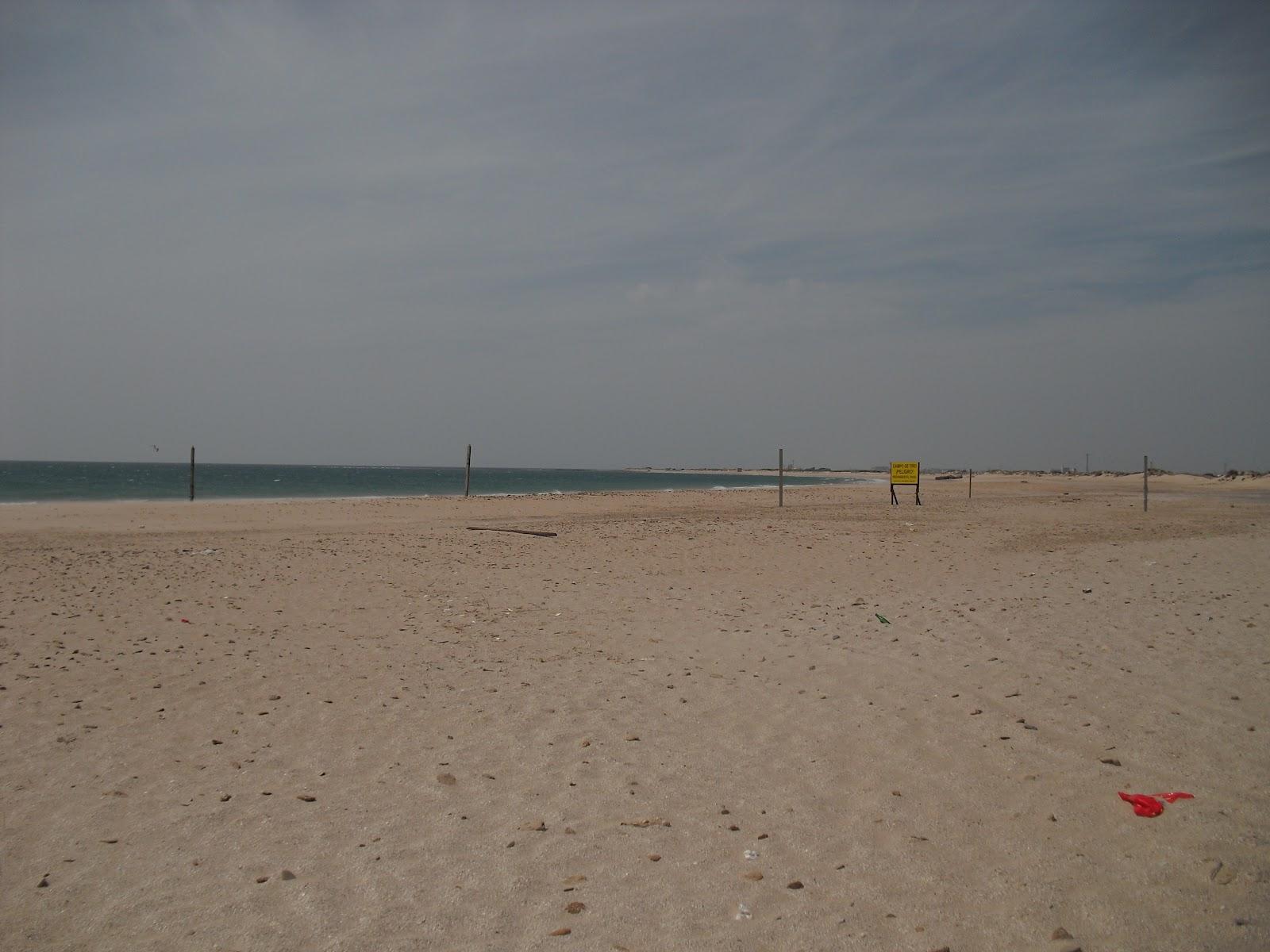 Foto playa San Fernando.