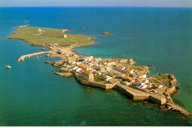 Foto playa Tabarca / Playa central.