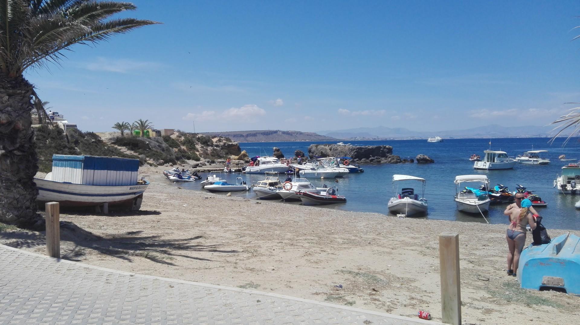 Playa Tabarca / Playa central