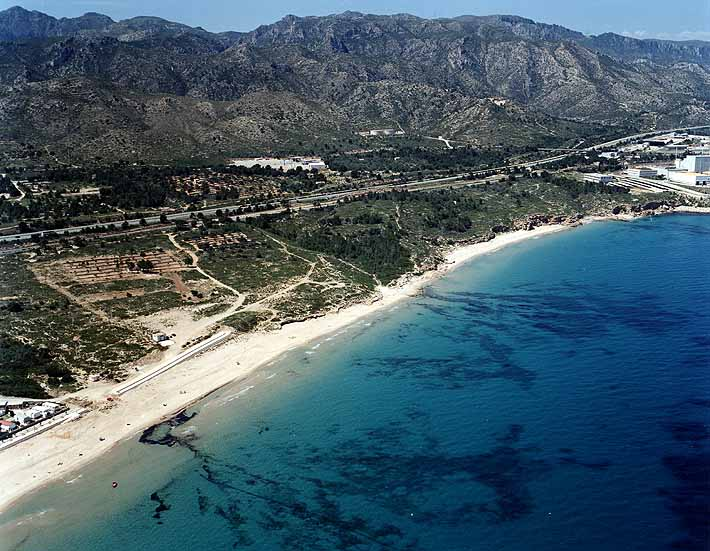 Foto playa Cala Almadraba.