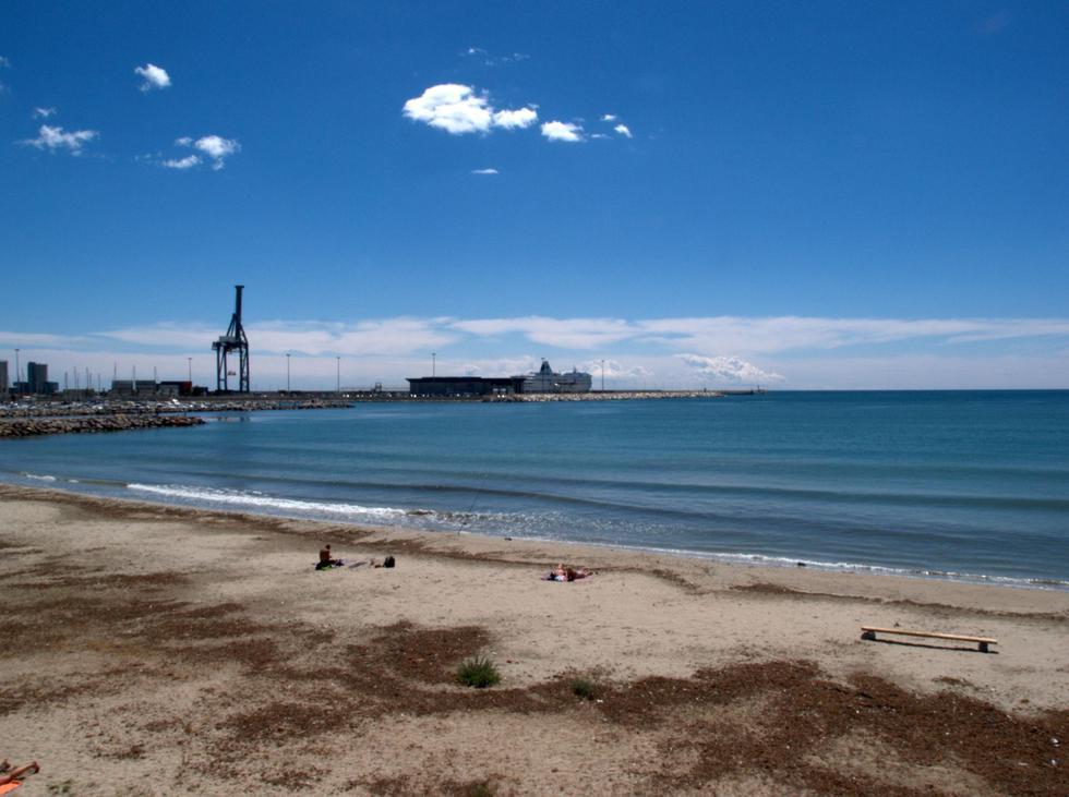Foto playa Vista Mar.