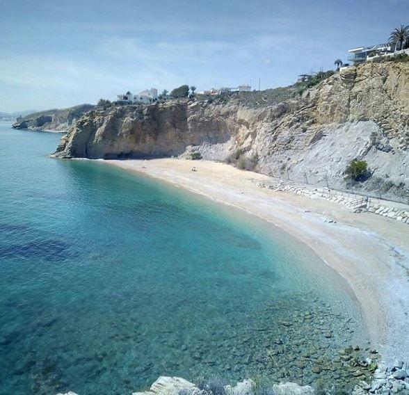 Foto playa El Andragó.