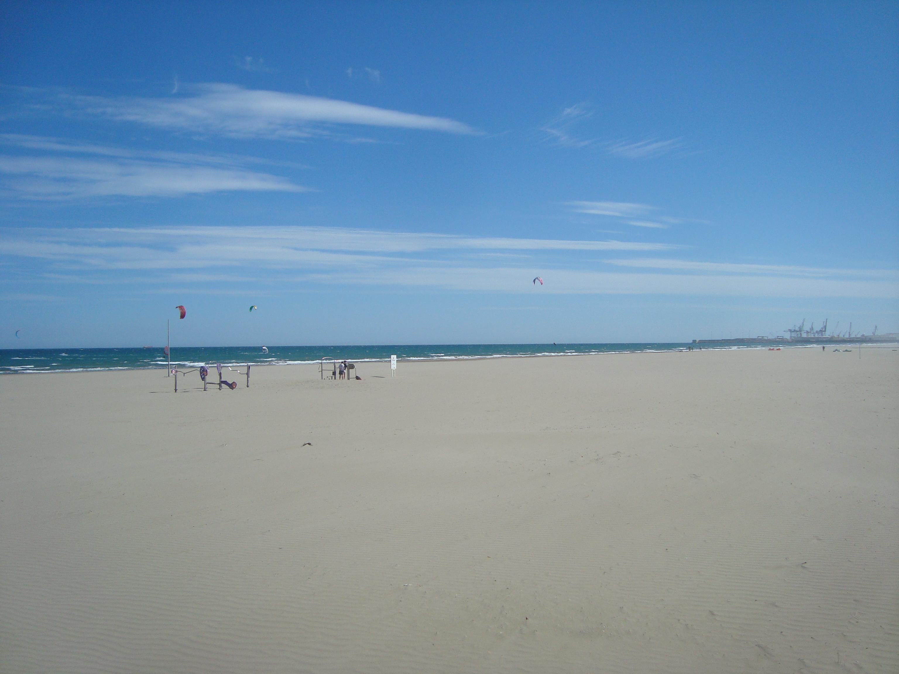 Foto playa Rajadell.