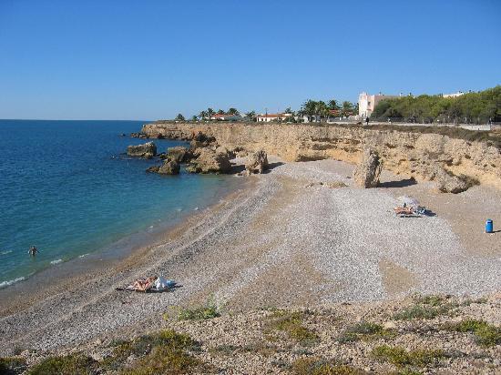 Foto playa Cala de la Foradada.