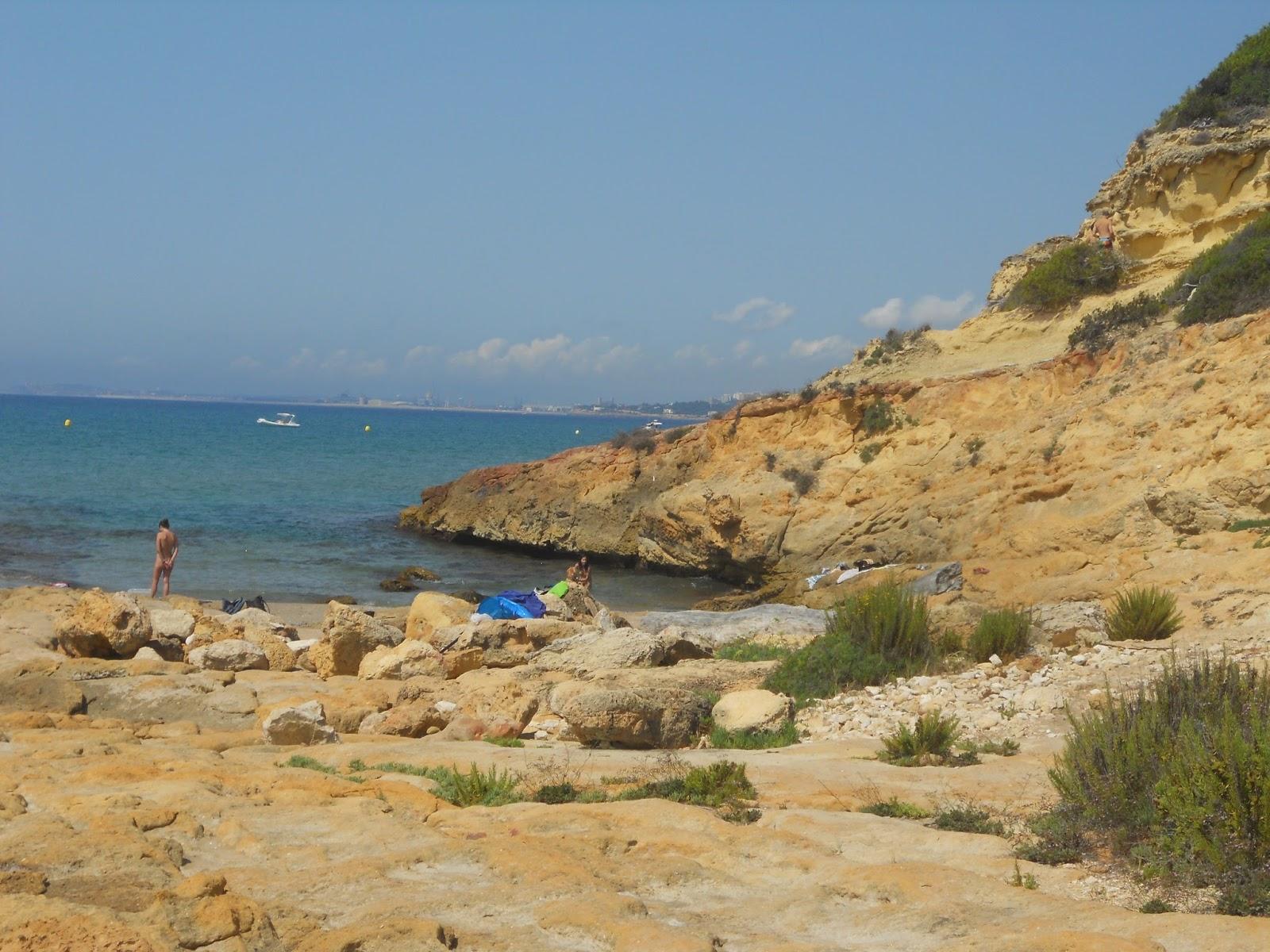 Foto playa Cala de la Roca Plana.