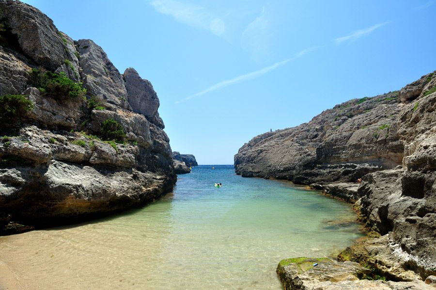 Foto playa Cala de las Rocas.