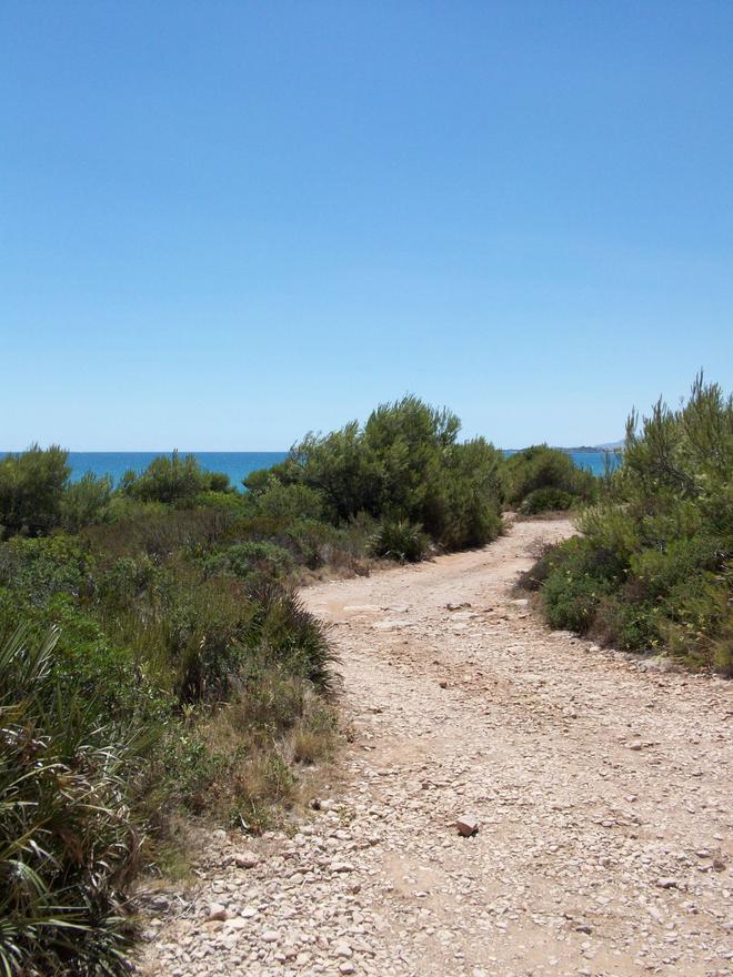 Playa Cala del Pinar o del Faralló