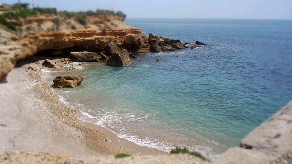 Foto playa Cala del Saldonar.