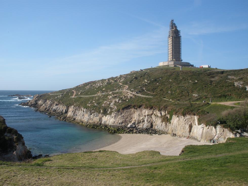 Foto playa Cala Chamoso.