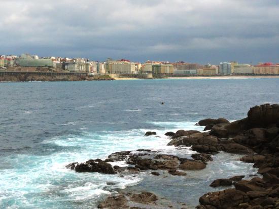 Foto playa Praia dos Curas.
