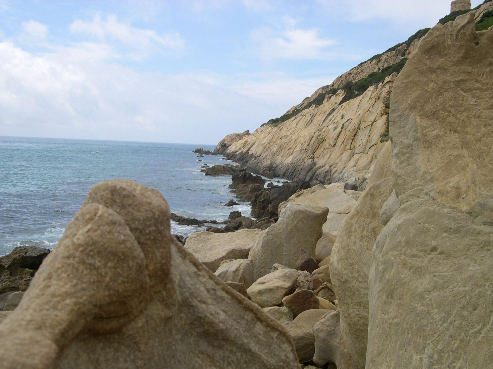 Foto playa El Cañuelo. Zahara-Bolonia8 (CORTEZA).