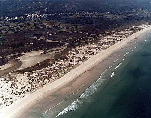 Foto playa Castelo.