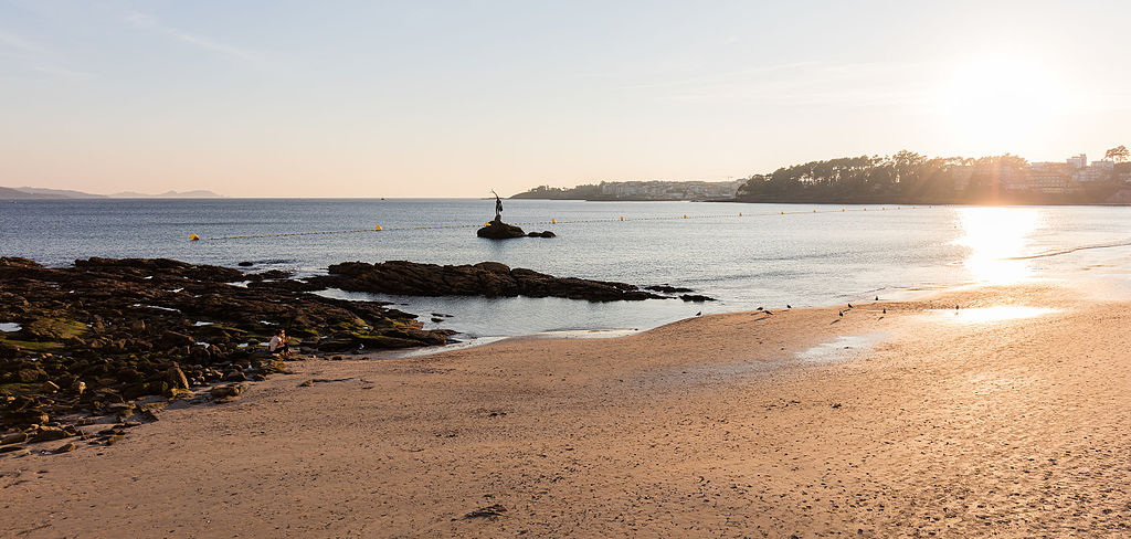 Foto playa Lopesa.