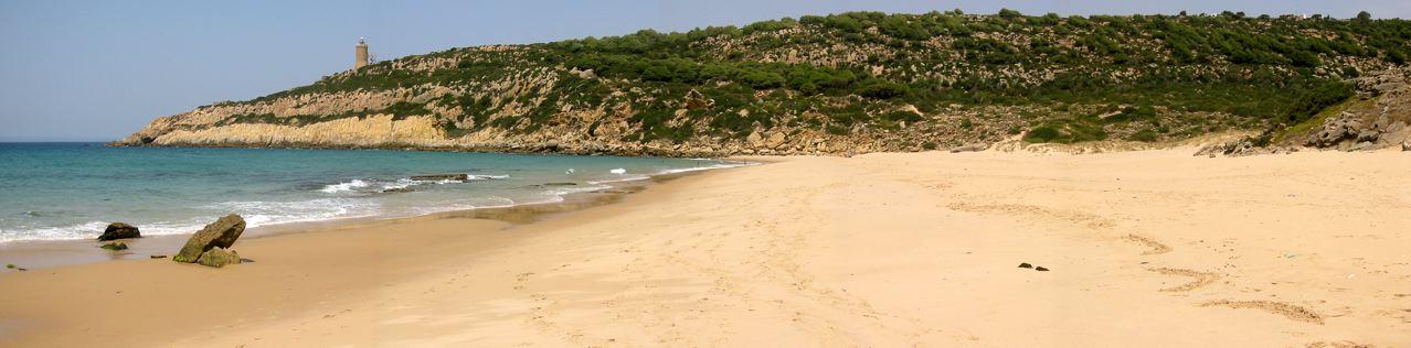 Foto playa El Cañuelo. Panorámica del Cañuelo
