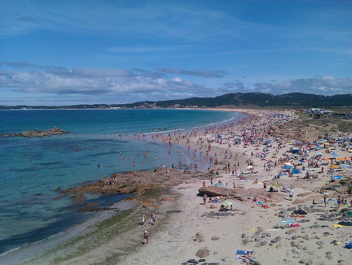 Foto playa O Casal.