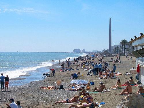 Foto playa Playa de los Pinillos.