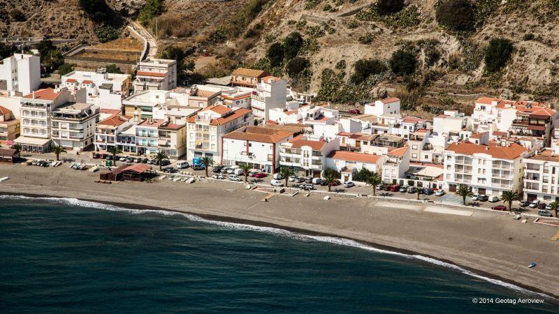 Foto playa La Veintiuna.