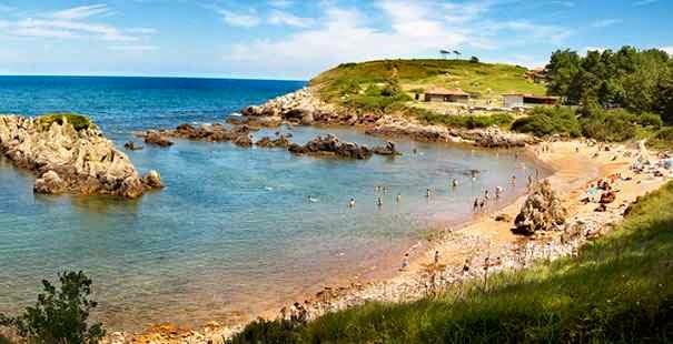 Foto playa Huelgues.