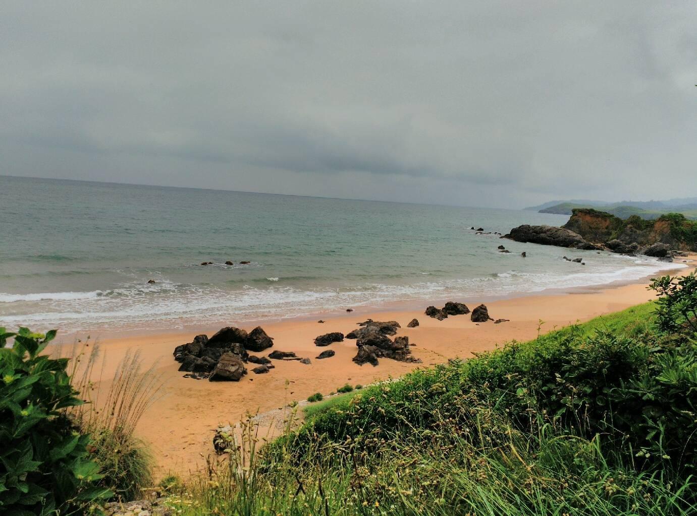 Foto playa Salmoriera / El Barrigón.