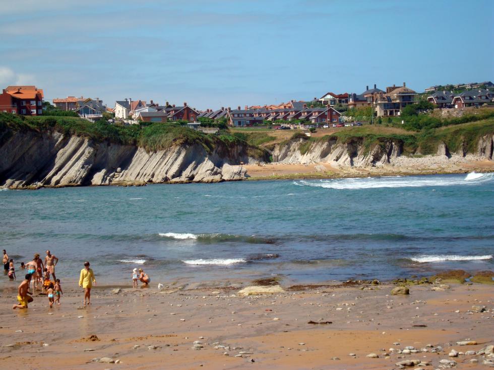 Foto playa Portio.