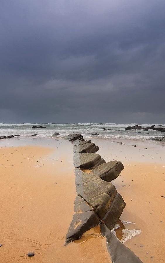 Foto playa Arrigorri.