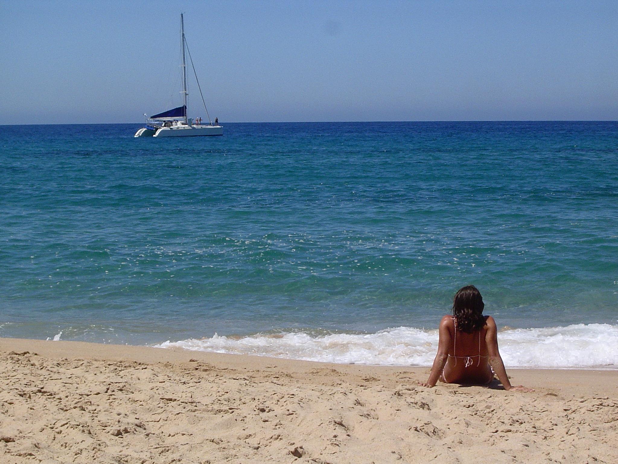 Foto playa Zahora. Relax