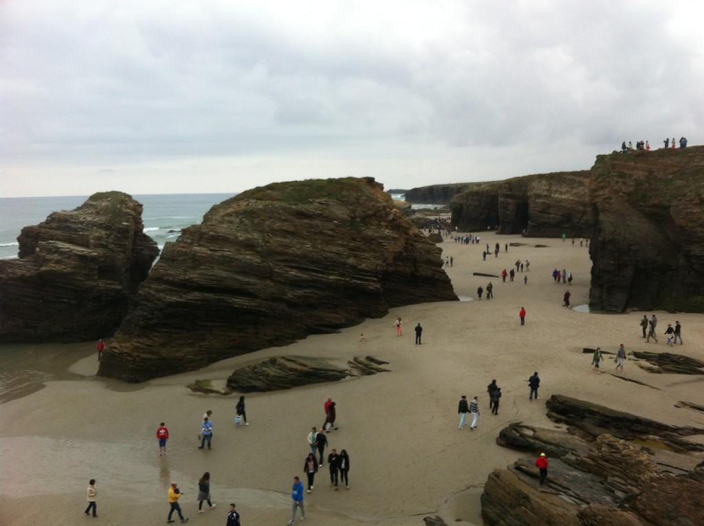 Foto playa Portiño de A Devesa.