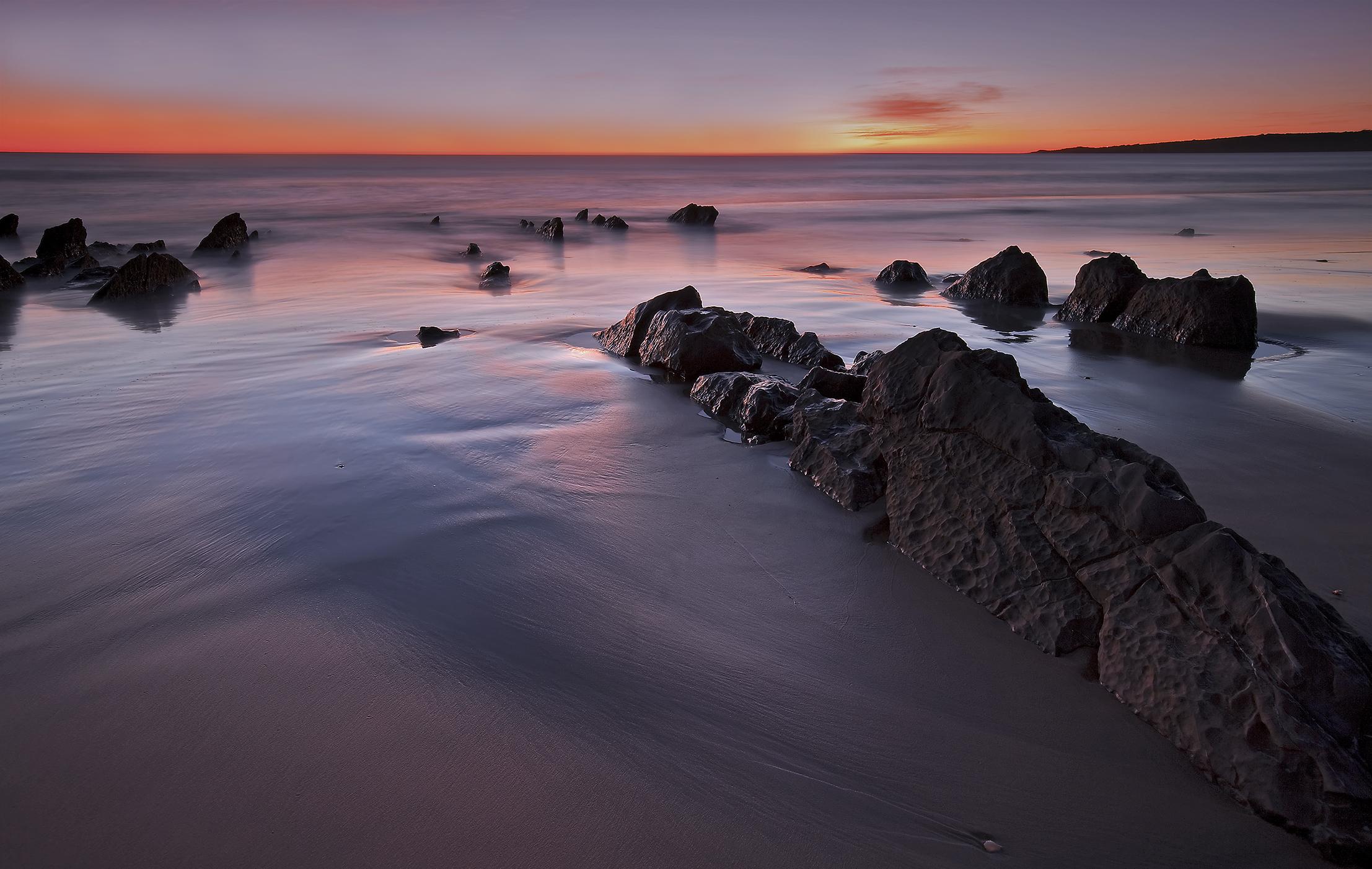 Foto playa Cañillos / Del Botero. Zahara de los Atunes - Atardecer