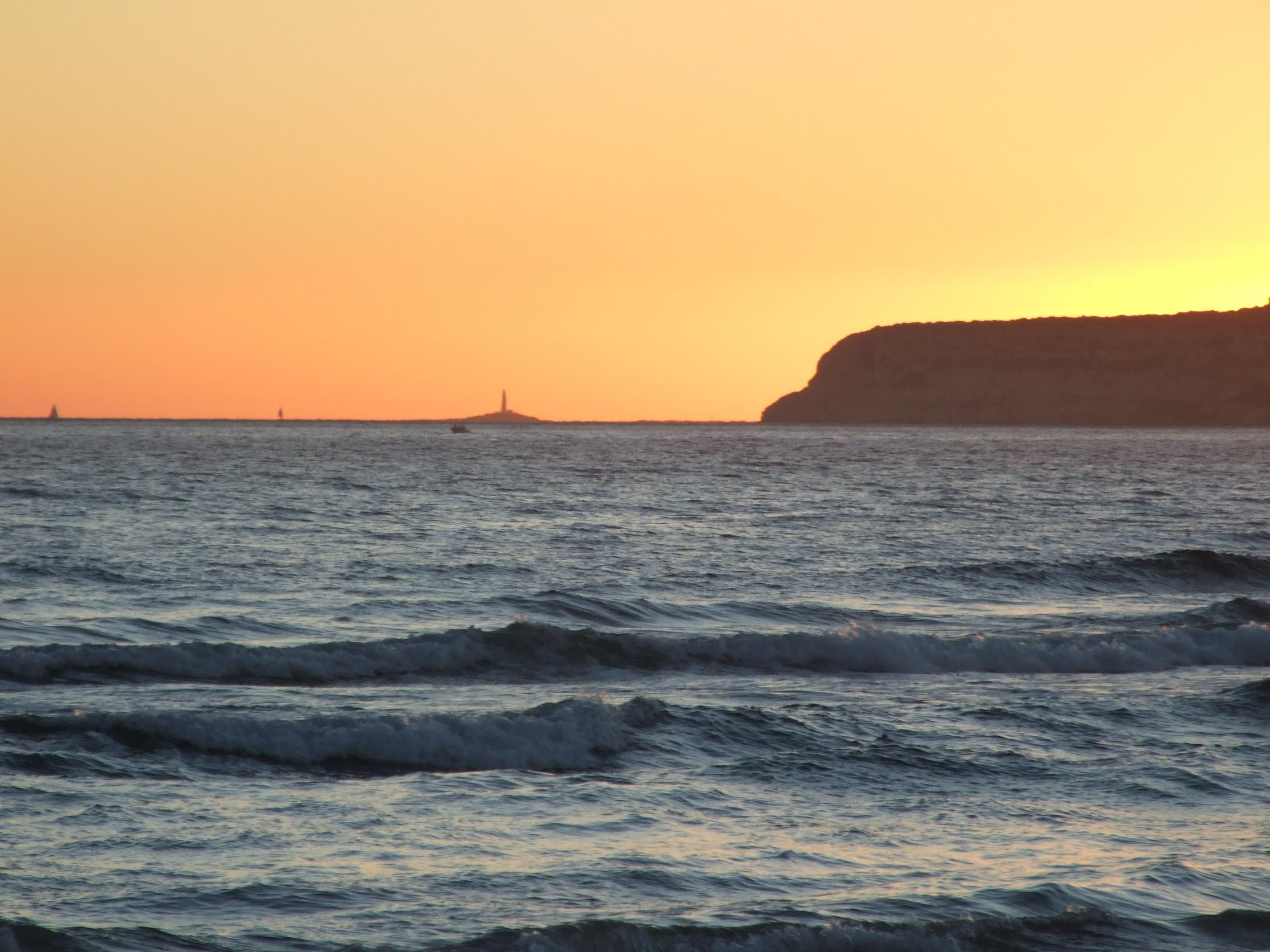 Foto playa Cañillos / Del Botero. atardecer en zahara de los atunes