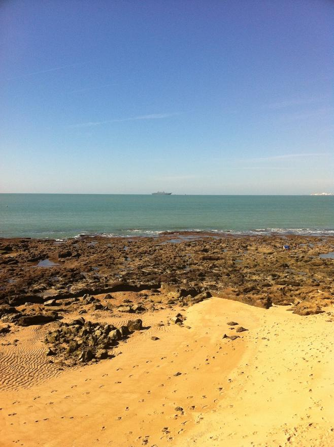 Foto playa La Calita.