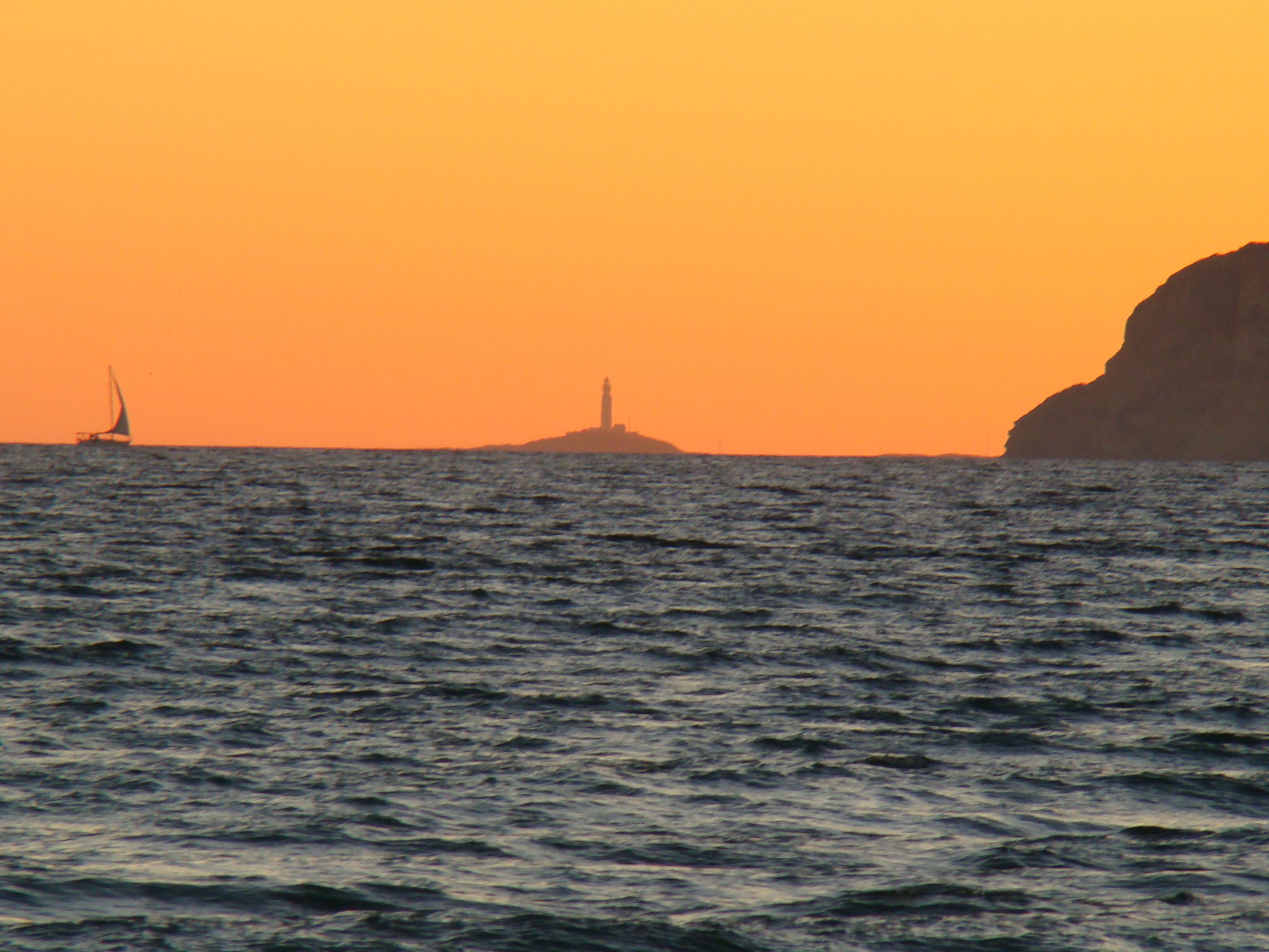 Foto playa Cañillos / Del Botero. Trafalgar, puestade sol