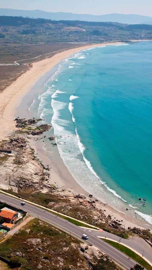 Foto playa Ríos de Fora.
