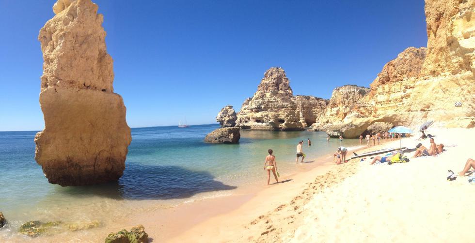Foto playa A Lagoa.