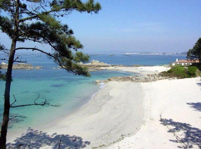 Foto playa Bouzas / Do Adro / De Mar.