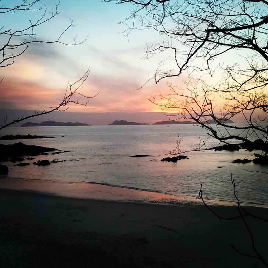 Foto playa Alcabre / Carril / Santa Bahía.