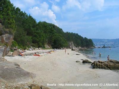 Foto playa Sobreira.