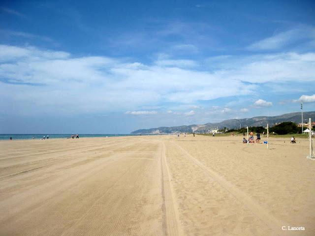 Foto playa Carril.