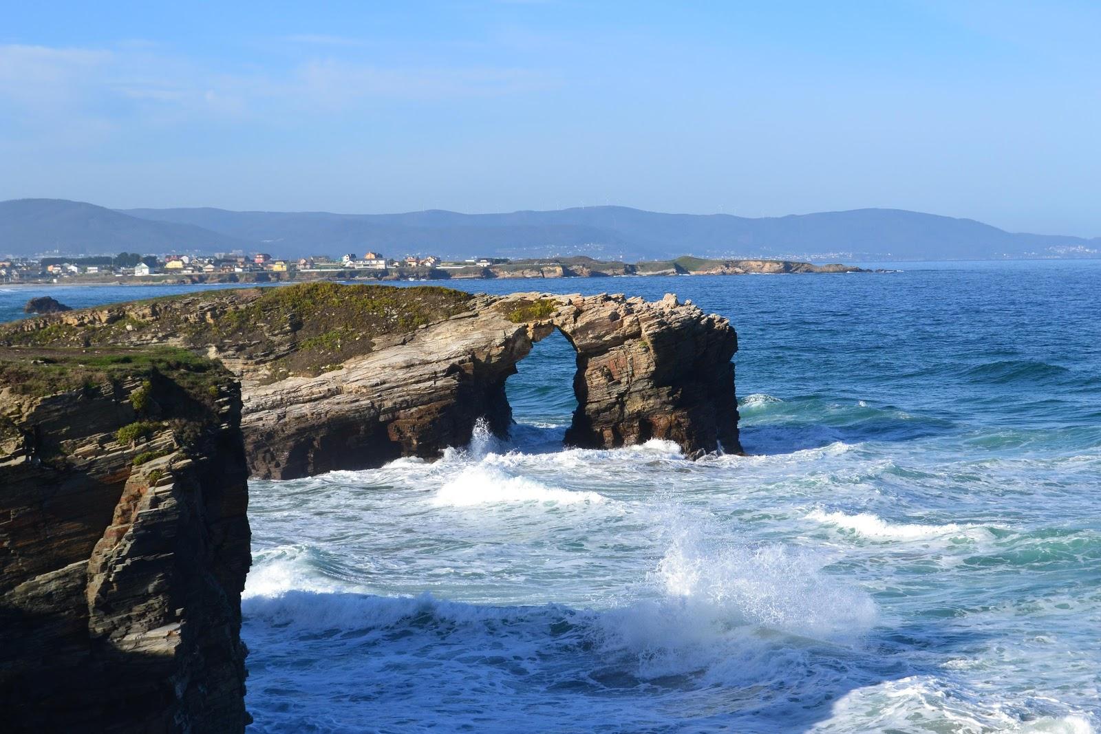 Foto playa Compostela.