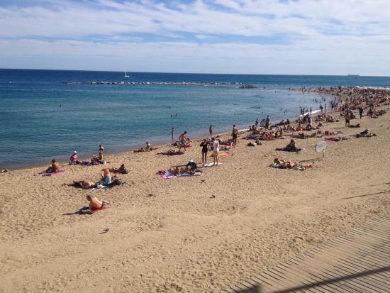 Foto playa Bouzas / Castelete.