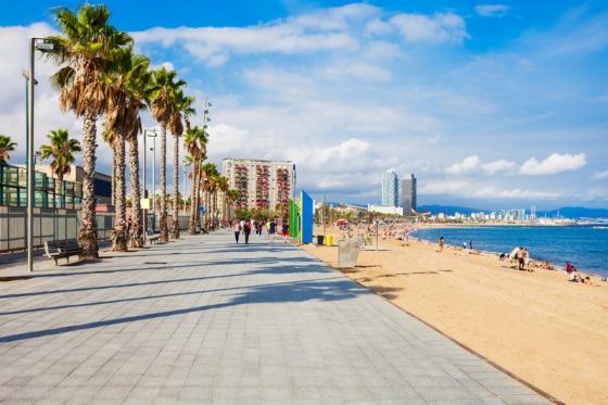 Playa Bouzas / Castelete